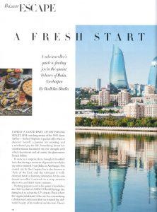 Azerbaijan Article Harper's Bazar 2